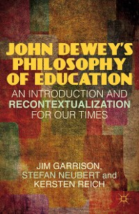 Cover John Dewey's Philosophy of Education
