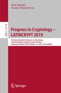 Cover Progress in Cryptology - LATINCRYPT 2019