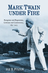Cover Mark Twain under Fire