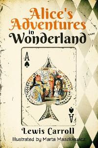 Cover Alice's Adventures in Wonderland (Illustrated)
