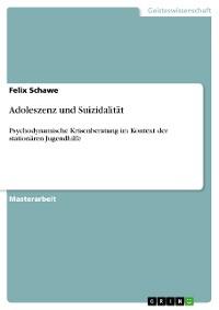 Cover Adoleszenz und Suizidalität