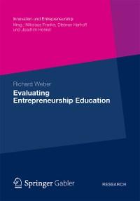 Cover Evaluating Entrepreneurship Education