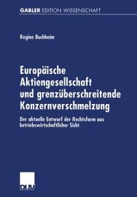 Cover Europaische Aktiengesellschaft und grenzuberschreitende Konzernverschmelzung