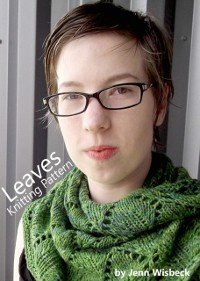 Cover Leaves Shawl Lace Knitting Pattern