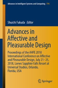 Cover Advances in Affective and Pleasurable Design