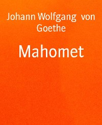 Cover Mahomet