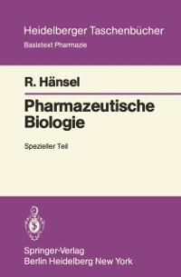 Cover Pharmazeutische Biologie