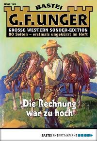 Cover G. F. Unger Sonder-Edition 192 - Western
