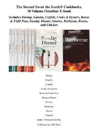 Cover The Second Savor the South Cookbooks, 10 Volume Omnibus E-book