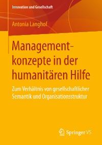Cover Managementkonzepte in der humanitären Hilfe