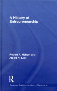 Cover History of Entrepreneurship
