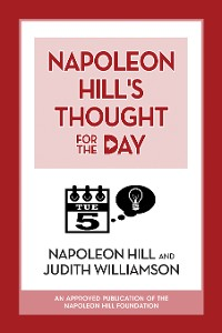 Cover Napoleon Hill's Thought for the Day