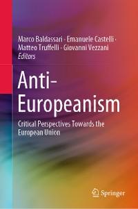 Cover Anti-Europeanism