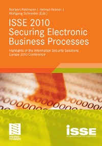 Cover ISSE 2010 Securing Electronic Business Processes