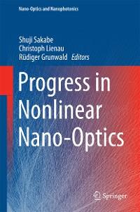 Cover Progress in Nonlinear Nano-Optics