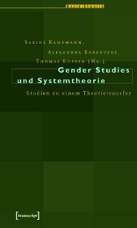 Cover Gender Studies und Systemtheorie