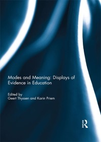 Cover Modes and Meaning: Displays of Evidence in Education