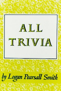 Cover All Trivia: A Collection of Reflections & Aphorisms