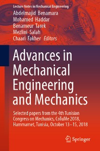 Cover Advances in Mechanical Engineering and Mechanics