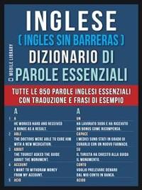 Cover Inglese ( Ingles Sin Barreras )  Dizionario di Parole Essenziali