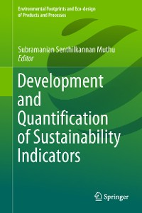 Cover Development and Quantification of Sustainability Indicators