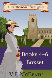 Cover Eliza Thomson Investigates: Omnibus 4-6