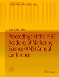 Cover Proceedings of the 1995 Academy of Marketing Science (AMS) Annual Conference