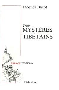 Cover Trois mystères tibétains