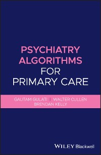 Cover Psychiatry Algorithms for Primary Care