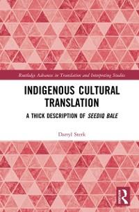 Cover Indigenous Cultural Translation