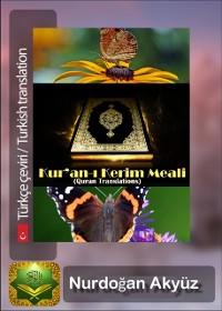 Cover Kur'an-A  Kerim Meali (Quran Translations)