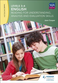 Cover Levels 3-4 English: Reading for Understanding, Analysis and Evaluation Skills