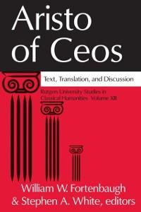 Cover Aristo of Ceos