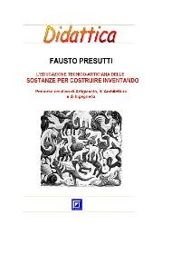 Cover L'educazione tecnico-artigiana delle Sostanze per costruire inventando