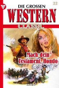 Cover Die großen Western Classic 22 – Western
