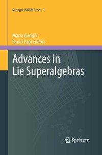 Cover Advances in Lie Superalgebras