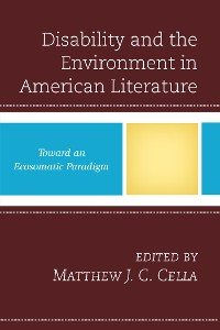Cover Disability and the Environment in American Literature