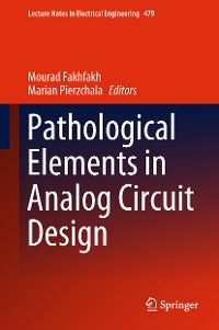 Cover Pathological Elements in Analog Circuit Design