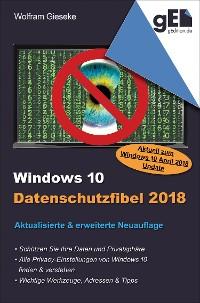 Cover Windows 10 Datenschutzfibel 2018