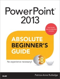 Cover PowerPoint 2013 Absolute Beginner's Guide