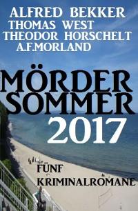 Cover Mördersommer 2017