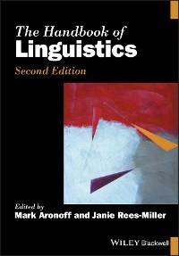 Cover The Handbook of Linguistics