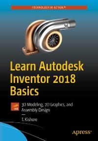 Cover Learn Autodesk Inventor 2018 Basics