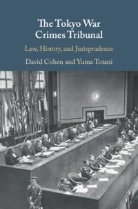 Cover Tokyo War Crimes Tribunal