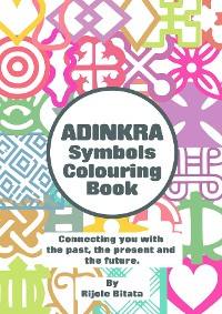 Cover Adinkra Colouring Book