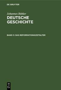 Cover Das Reformationszeitalter