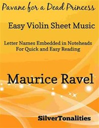 Cover Pavane for a Dead Princess Easy Violin Sheet Music