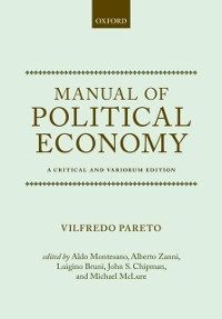 Cover Manual of Political Economy