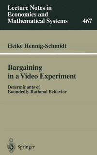 Cover Bargaining in a Video Experiment