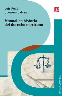 Cover Manual de historia del derecho mexicano